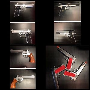 6 Airsoft Gun Bundle